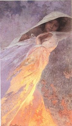 Heda by Alphonse Mucha, 1916