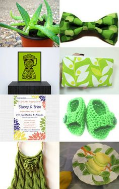 Lime Green  by Lauren Constantino on Etsy--Pinned with TreasuryPin.com