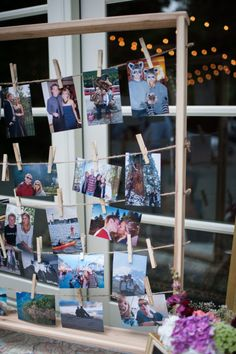 Gallery Inspiration | Category - Decor | Put your memories on display for the big day #wedding #memories