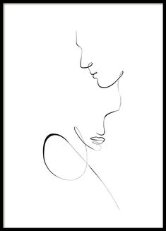 discount codes Line Art Couple Poster Minimalist Drawing, Minimalist Art, Art Abstrait Ligne, Art Couple, Couple Painting, Art Visage, Outline Art, Line Art Tattoos, Abstract Line Art