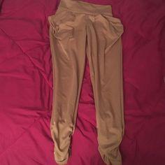 Khaki pants Khaki pants, similar to leggings Pants Trousers