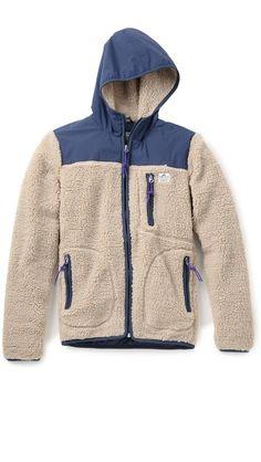 Penfield Carson Fleece Hooded Jacket
