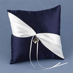 Ring Pillow..simple, elegant...would look good in all colors