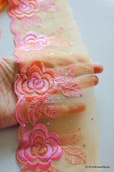 1 cm magnifique vert /& or galon bordure en dentelle ruban pour Crafts Arts decor 1 mètre