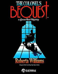 The Colonel's Bequest: A Laura Bow Mystery. Loved this game as a kid. We had just upgraded to a 286 10 Mhz Tandy 2500XL and while my dad was busy with MS Flight Sim my stepmom thought this mystery adventure game would be fun. This was the first game to cause me trouble falling asleep one late night after a long session of trying to figure out who the killer was that was picking off guests at the mansion left and right. Good memories.