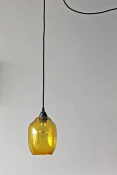 Glass Shade - Amber £25