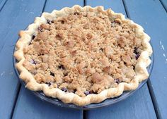The Fruits of our Labour: Saskatoon Crumb Pie Saskatoon Berry Recipe, Banana Carrot Muffins, Pick Your Own Fruit, Homemade Pie, Taste Of Home, Carrots, Berries, Desserts, Recipes