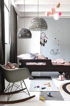 Sophisticated modern Toddler room created by Rafa-kids