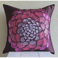 Decorative Pillow Sham Covers Accent Pillow by TheHomeCentric