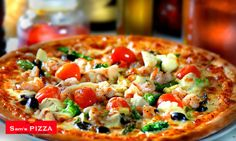 Buy 1 Pizza and Get 1 Pizza Free at Sam's Pizza