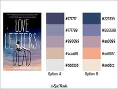 24 best YA Book Cover Color Palettes images on Pinterest | Color ...
