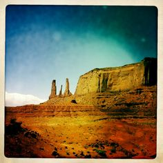 Road trip - Monument Valley - Three Sisters - America