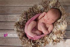 Julia 7 días recién nacido