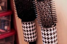 organizing resolutions budget friendly organizing ideas, organizing, Cover tin cans to use for behind the door storage