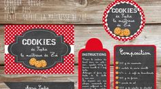 The cookie kit, the last minute gift for the mistress (to print – free) – It's Christmas soon … well not immediately by annefaerie Dog Biscuits, Cookies Et Biscuits, Kit Cookies, Gifts For Cooks, Handmade Christmas Gifts, Last Minute Gifts, Etiquette, Homemade Gifts, Teacher Gifts