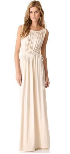 Grecian Long Dress, looks so cute and surprisingly simple