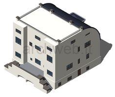 casa Steiner 3D - steiner house dwg