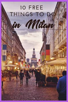 10 free things to do in Milan - discover the best Milan street style during fashion week and all year round, and find out what to see and do in Milan for free!