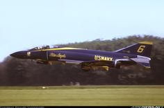 F-4 Phantom. First time I saw the Blue Angels fly this is the beauty they were using (early 70's).