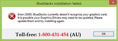 Call 1-800-431-454 for help to step-by-step guidance to know how to fix Bluestacks error 25001 in #Bitdefender antivirus. The whole process is defined here with right instructions to fix this error code and remove from the computer system. If the problem is not solved by these troubleshooting process then online support service available right here offered by computer experts to fix the Bitdefender related various issues online.