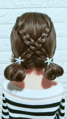 The post Hairstyle Tutorial 889 appeared first on Italia Moda. Little Girl Hairstyles, Braided Hairstyles, Bob Hairstyle, Hair Upstyles, Toddler Hair, Purple Hair, Dark Purple, Hair Videos, Hairstyles Videos