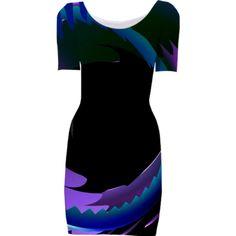 0000000P/Circular Bodycon Dress