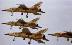 South African Air Force Mirage F1CZ Formation