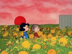 It's the Great Pumpkin, Charlie Brown - Pumpkin, opening sequence. A Halloween classic that Airs on ABC @ Charlie Brown Halloween, Great Pumpkin Charlie Brown, It's The Great Pumpkin, Charlie Brown Christmas, Charlie Brown Peanuts, Peanuts Gang, Halloween Gif, Halloween Crafts, Happy Halloween