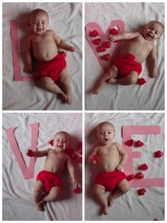My Valentine Baby on his first Valentines Day. Went to a few dollar stores and spent about $10 on props and made a few of my own for our photo session. Set it up by a well lit window in our home and used some good ole natural lighting. -Brandi VanOrmer