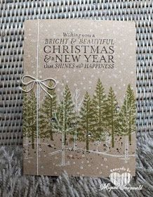 Magical Scrapworld: Festival of trees,White Christmas, Bright & Beautiful, Gorgeous Grunge. Old Olive, white,  Early Espresso, Baked Be Sugar. Sahara Sand.