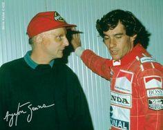 Senna & Lauda