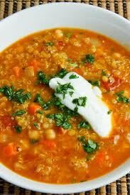 lentil soup - crockpot  **Everyone including the kids loved this and went back for seconds. And of course, we still had enough for leftovers. I did add a little extra stock a couple hours after cooking. -Angie**