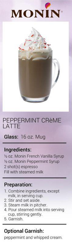 Peppermint Crème Latte