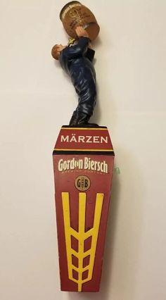 Beer Tap Handle Gordon Biersch Brewing Company Marzen Beer Tap Handle Figural