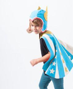 Superhero Cape & Flügel Hut Superheld Costum Kostüm von lovelane