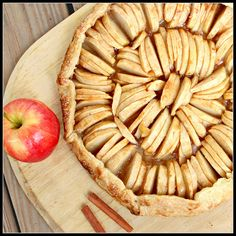Maple-Glazed Apple Crostata by What About Second Breakfast?, via Flickr