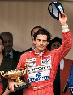 Piloto Ayrton Senna, McLaren Honda, Mónaco 1991