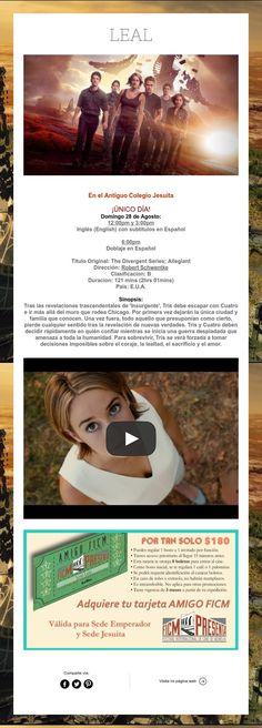 Divergente La Serie: LEAL ¡Lo que nos hace diferentes nos une!