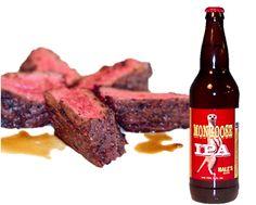 Mongoose IPA Marinated Hanger Steak