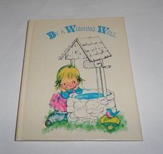 Vintage Norcross Miniature Book By A Wishing Well Kergis Saphore HC 1974 in Books, Antiquarian & Collectible | eBay