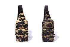 BAPE & Porter Release a Sick Pair of 1ST CAMO Sling Bags