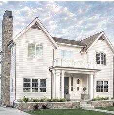 Dream House Architecture           Rear Elevation        Color inspiration