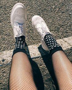 Cute lesbian white socks consider, that