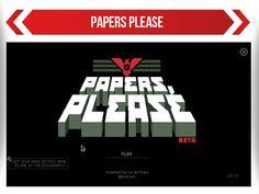 Papers Please el juego que niega visas