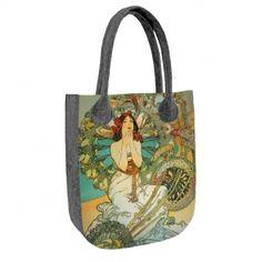 Filcová kabelka City Veronika Reusable Tote Bags, City