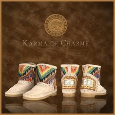 So stunning, these #karmaofcharme Maya boots!! Happy boots!!! @karmaofficial
