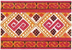 sk clanok 6184 kroje-a-ich-vyzdoba-cat-cier Folk Embroidery, Folk Costume, Graphic Patterns, Bohemian Rug, Cross Stitch, Textiles, Rugs, Snake, Crafts