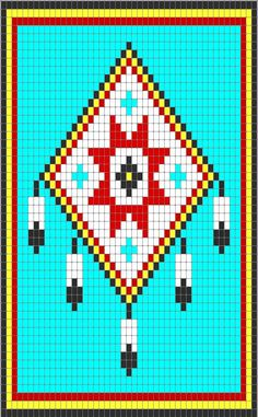 Cherokee Star & Feathers
