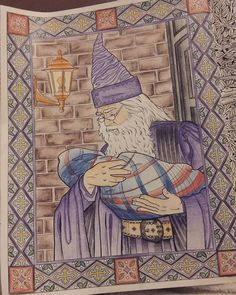 Harry Potter Coloring Book Colouring Books Enchanted Vintage Pages