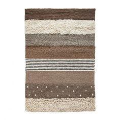 Teppich aus Wolle und Filz | Home24